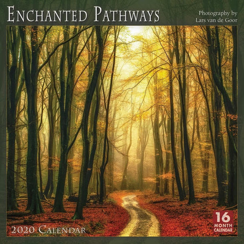 Enchanted Pathways 2020 Wall Calendar Front Cover