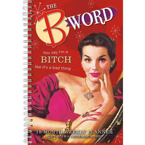B Word 2020 Engagement Calendar Front Cover