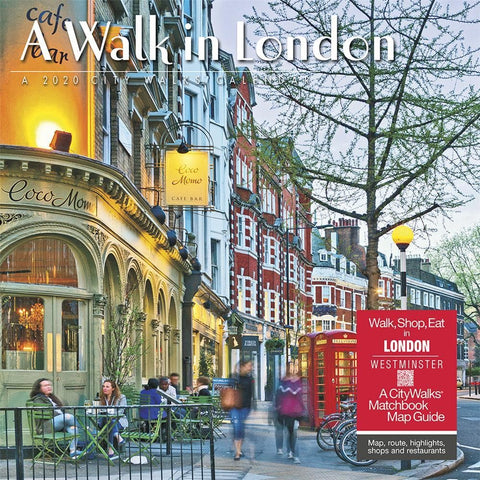 London A Walk in 2020 Wall Calendar Front Cover