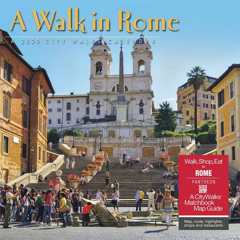 Rome A Walk in 2020 Wall Calendar Front Cover