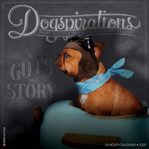 Dogspirations 2020 Wall Calendar Front Cover