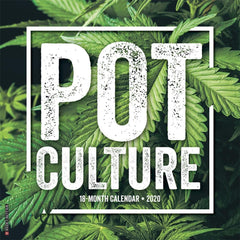 Pot Culture 2020 Wall Calendar Front Cover