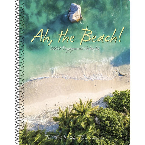Ah The Beach 2020 Engagement Calendar Front Cover