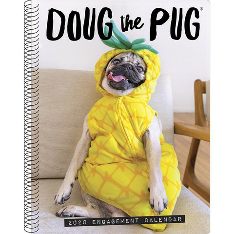 Doug the Pug 2020 Engagement Calendar Front Cover