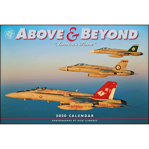 Above and Beyond 2020 Wall Calendar