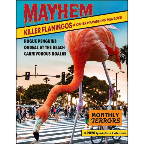 Killer Flamingos 2020 BIG Mini Calendar