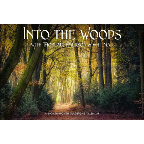 Into the Woods 2020 Wall Calendar
