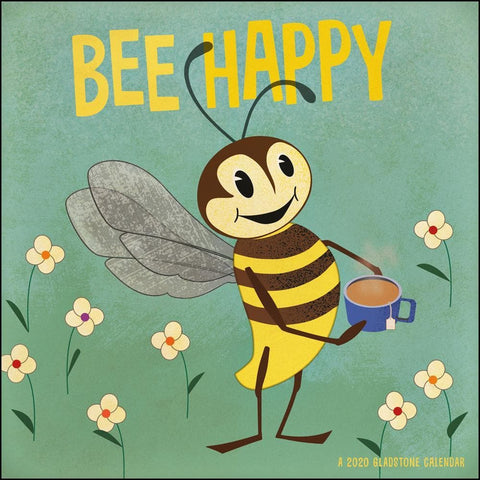 Bee Happy 2020 Mini Calendar - Online Exclusive
