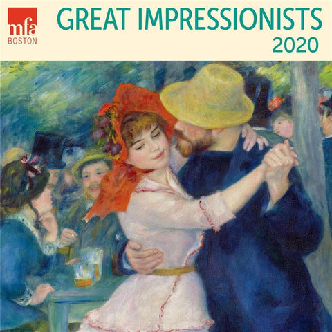 Great Impresionists 2020 Mini Calendar Front Cover