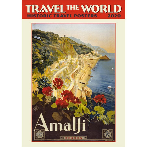Travel the World 2020 Poster Calendar Front Cover