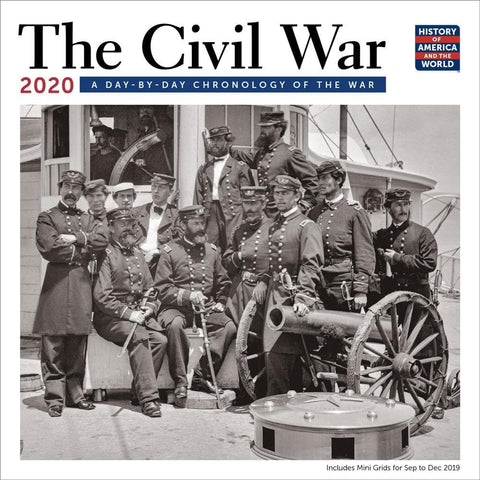 Civil War Chronology 2020 Wall Calendar Front Cover