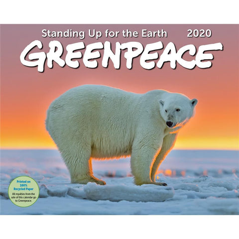 Greenpeace 2020 Wall Calendar Front Cover