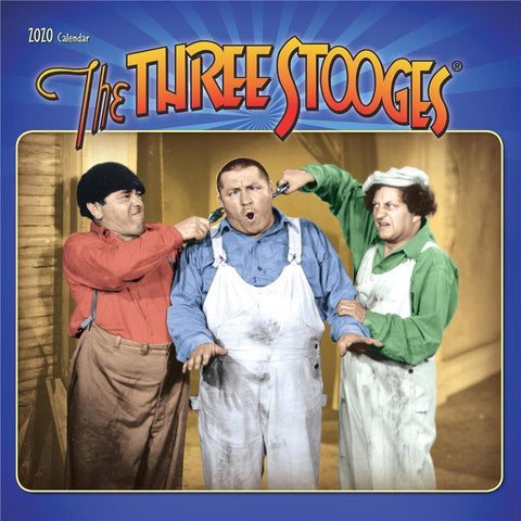 Three Stooges 2020 Wall Calendar Front Cover