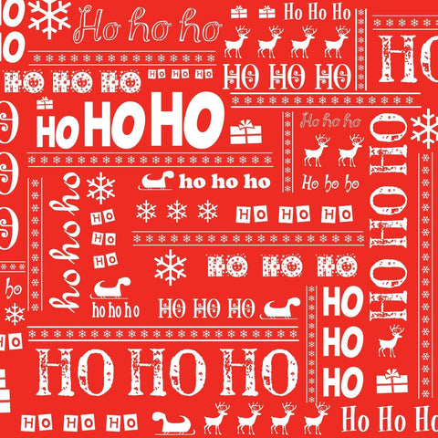 HoHoHo Mini Calendar Wrap - Calendar Club of Canada