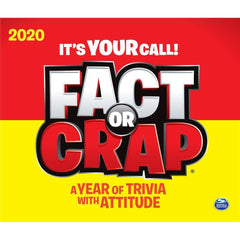 Fact or Crap 2020 Box Calendar Front Cover