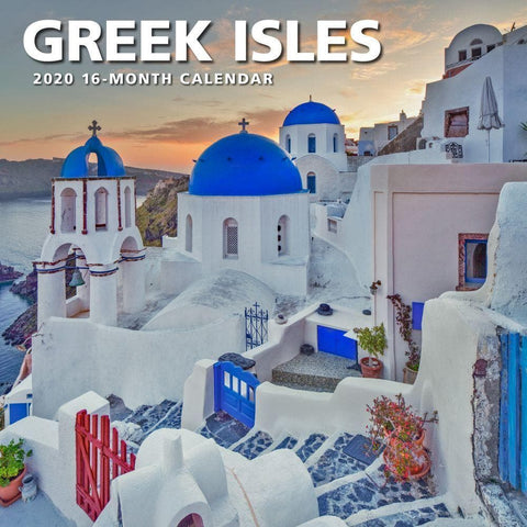 Greek Isles 2020 Wall Calendar - Online Exclusive