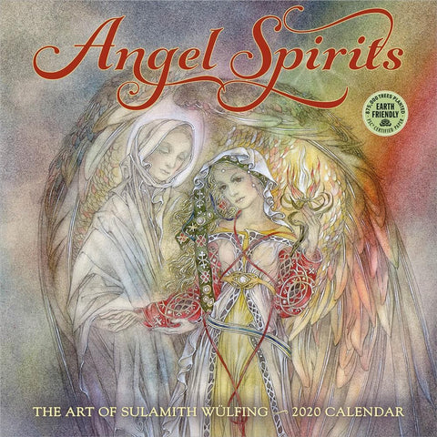 Angel Spirits 2020 Wall Calendar
