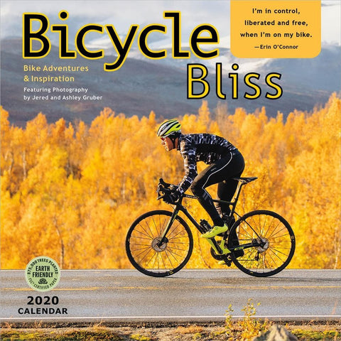 Bicycle Bliss 2020 Wall Calendar