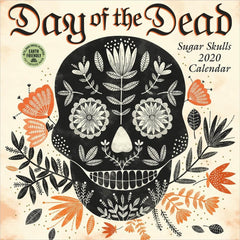 Day of the Dead 2020 Wall Calendar