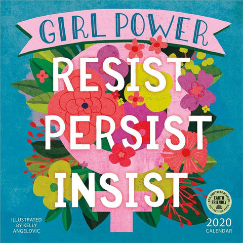 Girl Power 2020 Wall Calendar - Online Exclusive