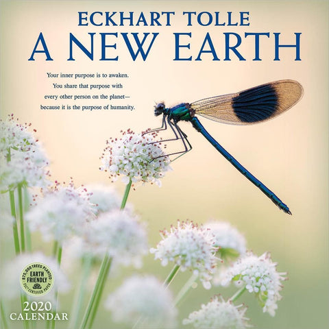 New Earth 2020 Wall Calendar - Online Exclusive