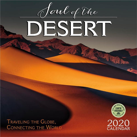 Soul of the Desert 2020 Wall Calendar - Online Exclusive