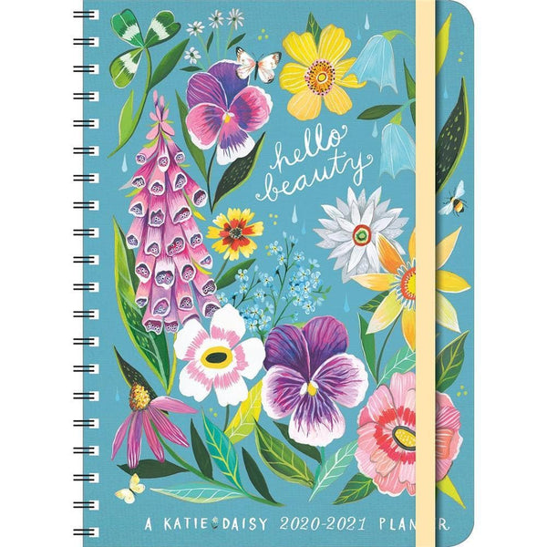 Katie Daisy 2021 Planner Engagement Calendar by Amber ...