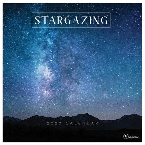 Stargazing 2020 Wall Calendar Front Cover