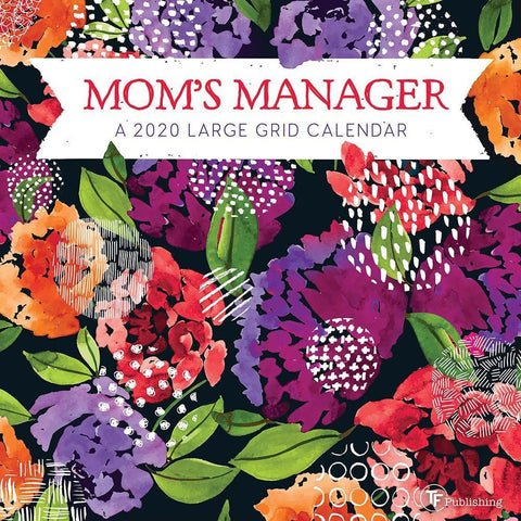 Moms Manager 2020 Mini Calendar Front Cover