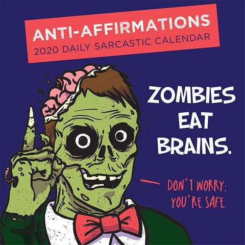 Anti Affirmations 2020 Box Calendar