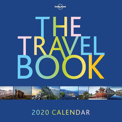 The Travel Book 2020 Box Calendar Front Cover