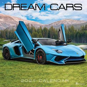 Dream Cars 2021 Wall Calendar Front Cover Image