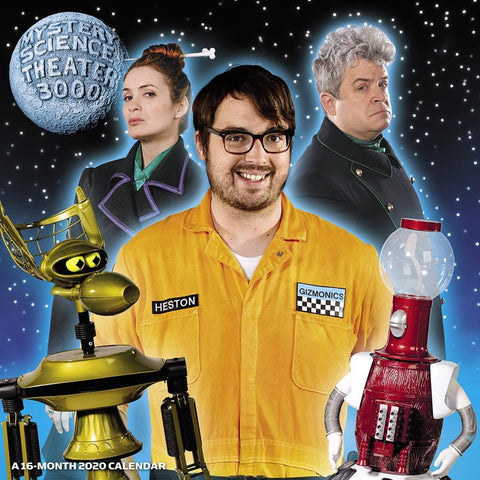 Mystery Science Theater 3000 2020 Wall Calendar Front Cover