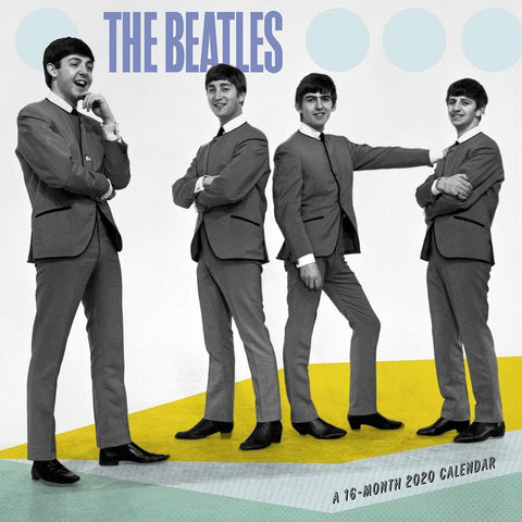 Beatles 2020 Mini CalendarFront Cover