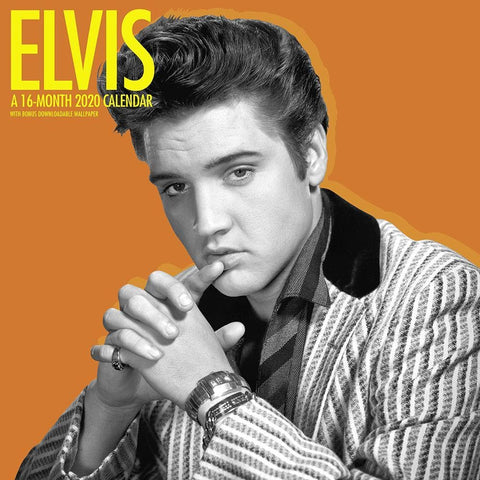Elvis 2020 Wall Calendar Front Cover