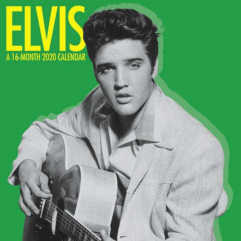 Elvis 2020 Mini CalendarFront Cover