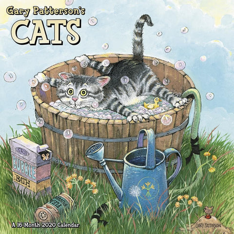 Pattersons Cats 2020 Mini CalendarFront Cover