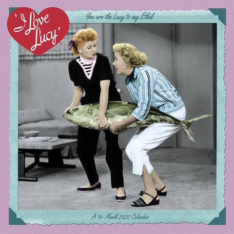 I Love Lucy 2020 Mini Calendar Front Cover