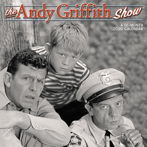 Andy Griffith Show 2020 Wall Calendar Front Cover