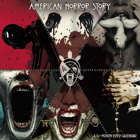 American Horror Story 2020 Wall Calendar Front Cover