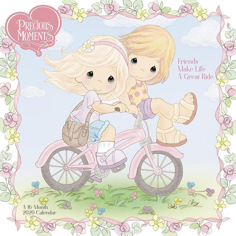 Precious Moments 2020 Wall Calendar Front Cover