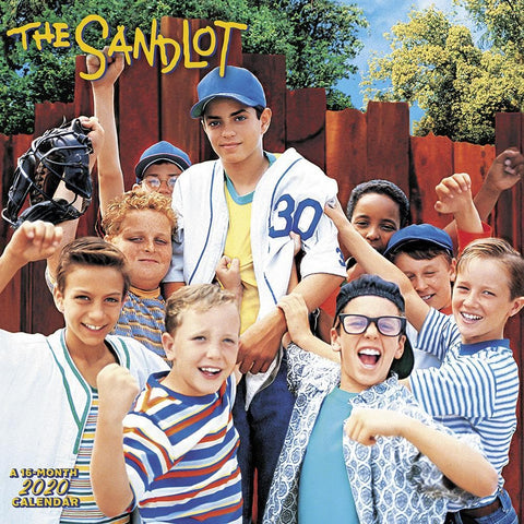 The Sandlot 2020 Wall Calendar Front Cover