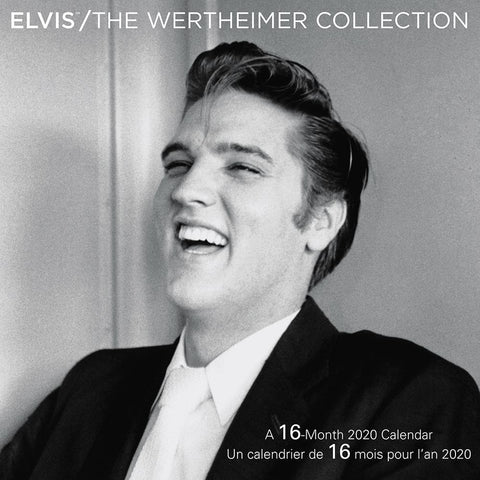 Elvis Wertheimer Bilingual 2020 Wall Calendar Front Cover