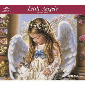 Little Angels Kuck 2021 Wall Calendar Front Image