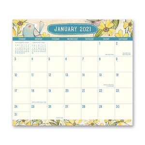 Where Love Grows 2021 Exclusive Monthly Magnetic Monthly Pad Calendar