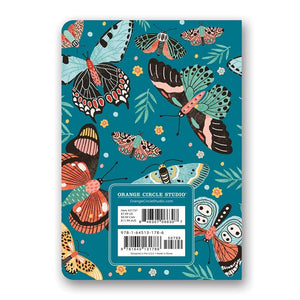 Lepidoptera 2021 Exclusive Monthly Pocket Calendar Back Cover