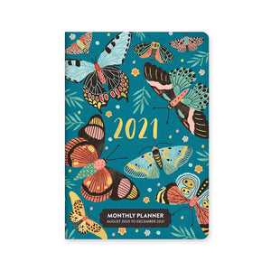 Lepidoptera 2021 Exclusive Monthly Pocket Calendar Front Cover