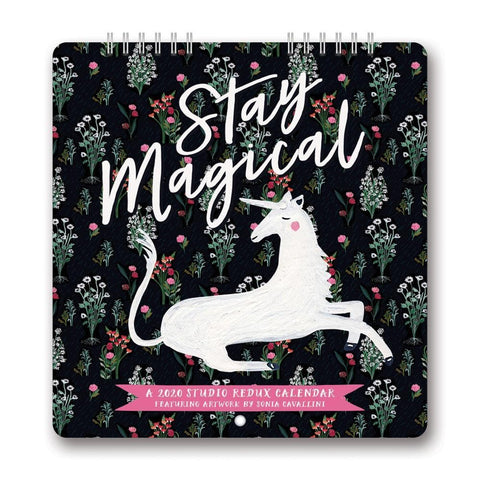 Stay Magical Studio Redux 2020 Mini Calendar Front Cover