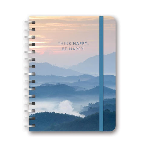 Be Happy Deluxe Compact Flexi 2020 Engagement Calendar Front Cover