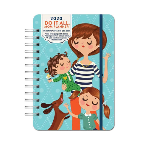 Mom Do It All Planner 2020 Engagement Calendar Front Cover